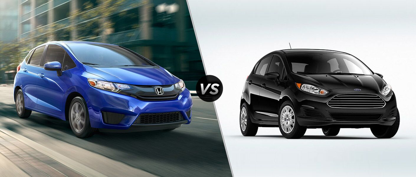 2016 Honda Fit vs 2016 Ford Fiesta