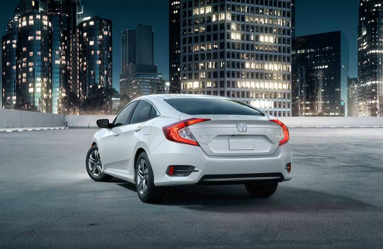 2016 Honda Civic Sedan taillights