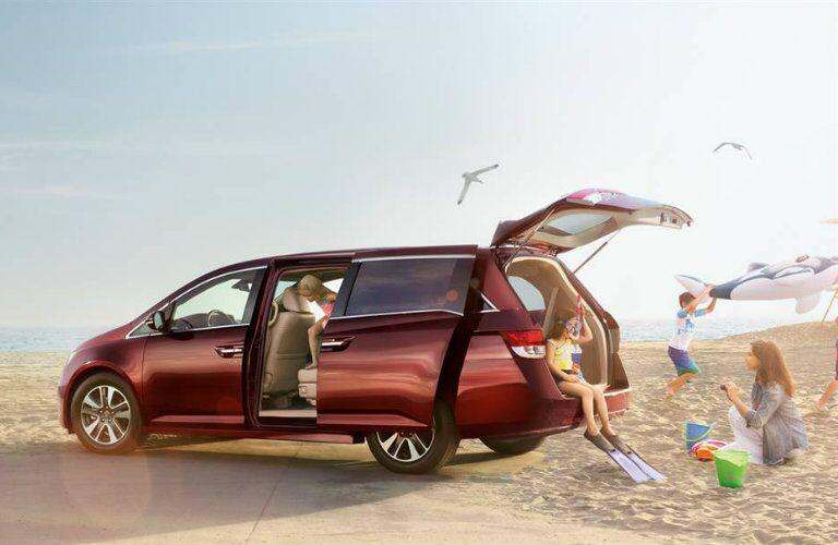 2016 Honda Odyssey family minivan