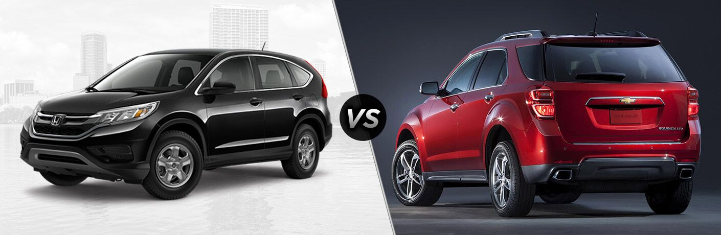 2016 Honda CR-V LX vs 2016 Chevy Equinox L