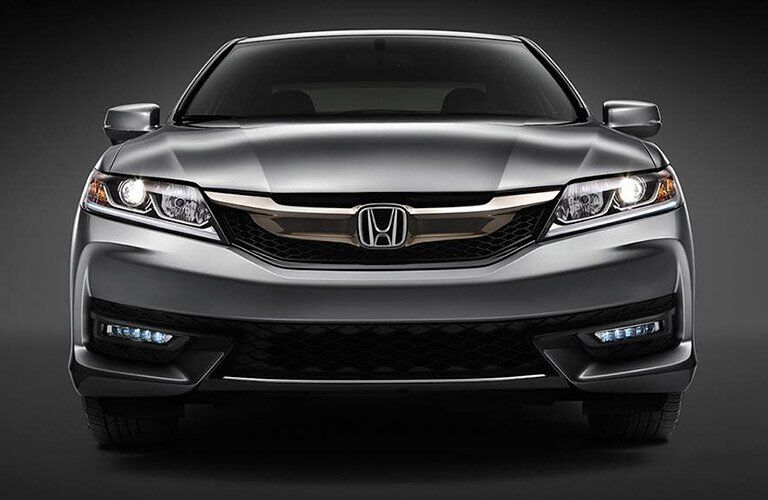 2017 Honda Accord Coup front view with grille