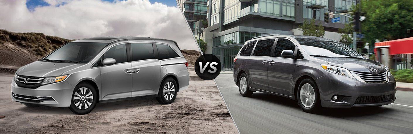 2017 honda odyssey vs 2017 toyota sienna. Black Bedroom Furniture Sets. Home Design Ideas