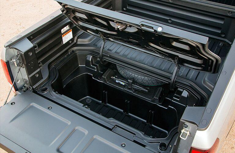 2017 Honda Ridgeline in-bed trunk