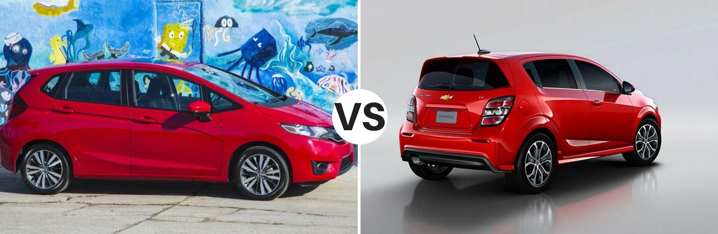 2017 honda fit lx vs 2017 chevy sonic lt for Chevy sonic vs honda fit