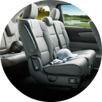 2017 Honda Odyssey passenger room