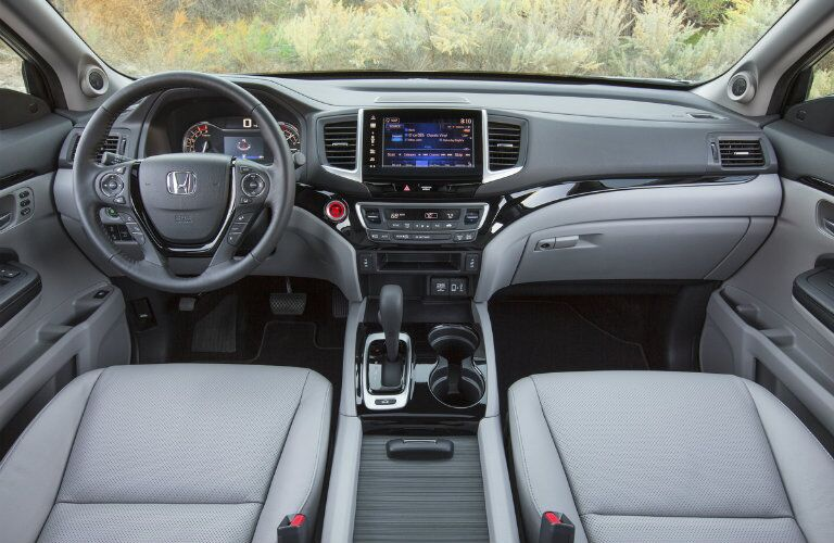 2017 Honda Ridgeline seating
