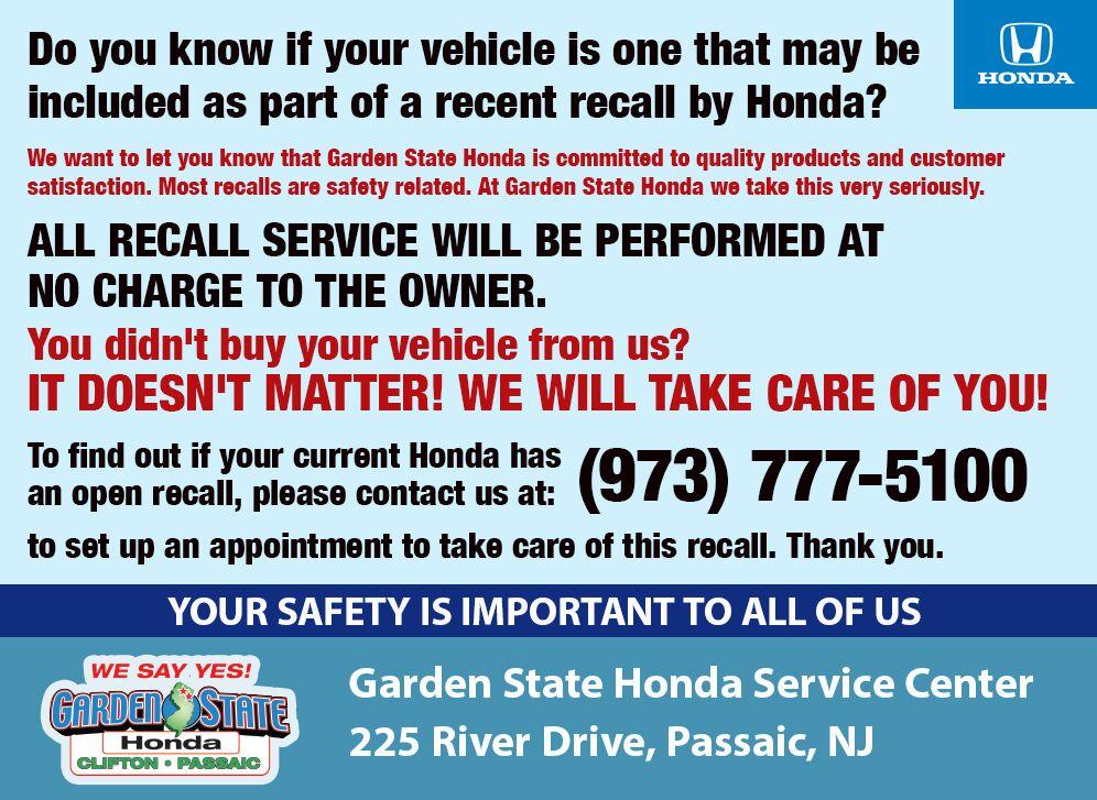Clifton New Jersey Honda Dealership Garden State