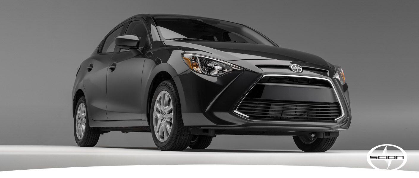 2016 Scion iA exterior front gray