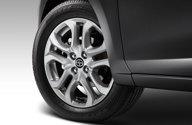 2016 Scion iA exterior front wheel
