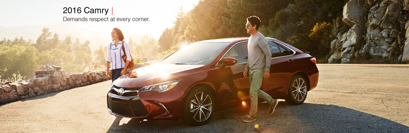 2016 Toyota Camry in Chicagoland, IL exterior front red