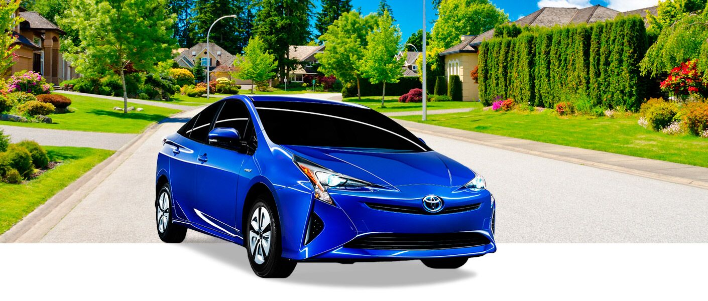 2016 Toyota Prius in Chicagoland, IL exterior front blue