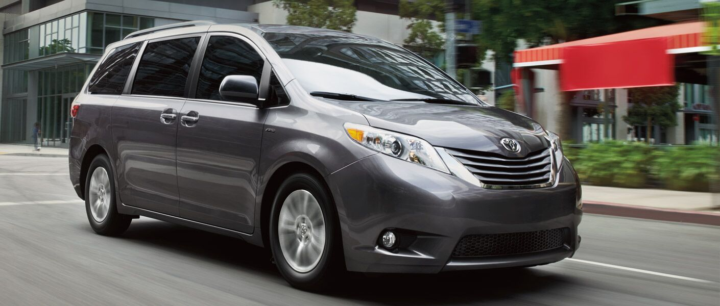 2016 Toyota Sienna in Tinley Park, IL exterior gray front