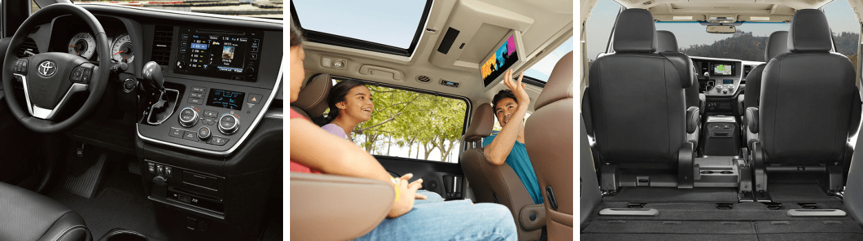 Interior Features of the 2017 Toyota Sienna