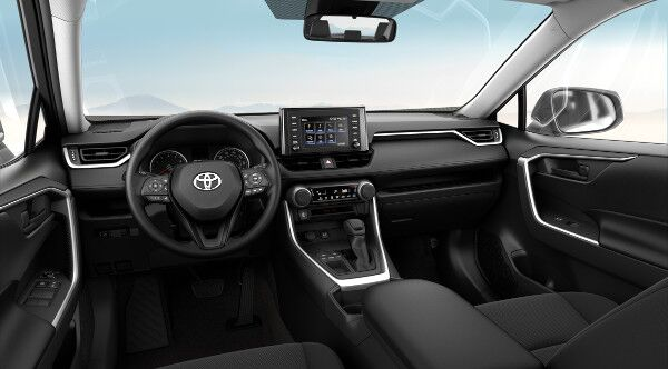 2019 Toyota RAV4 entertainment and technology features