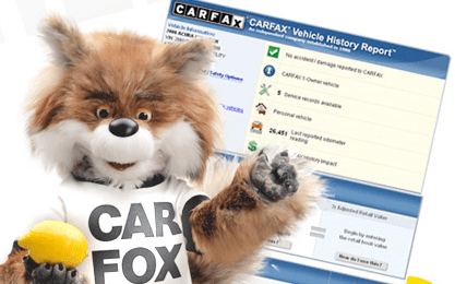 CarFax report for CPO & Pre-Owned Cars in Tinley Park, IL
