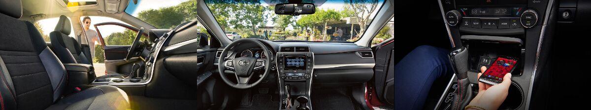 2017 Toyota Camry interior design in Tinley Park, IL