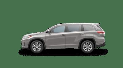 Silver 2017 Toyota Highlander LE