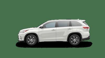 Pearl White 2017 Toyota Highlander Hybrid XLE