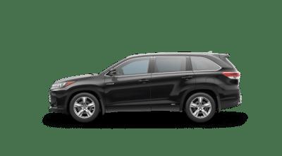 Black 2017 Toyota Highlander Hybrid Limited