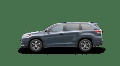 Metalic Blue 2017 Toyota Highlander LE Plus