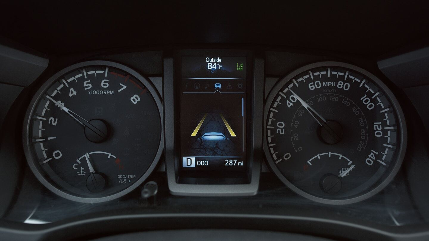 Toyota Tacoma Safety Display