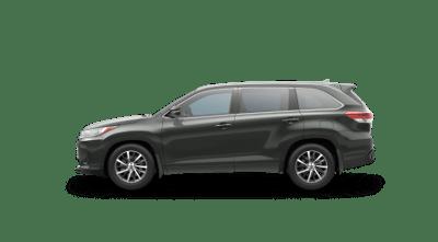 Forest Green 2017 Toyota Highlander XLE