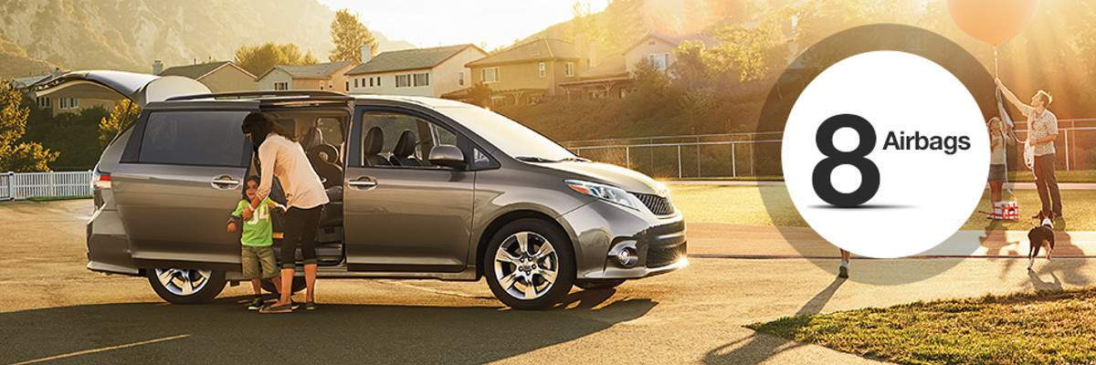 2017 Toyota Sienna Airbags