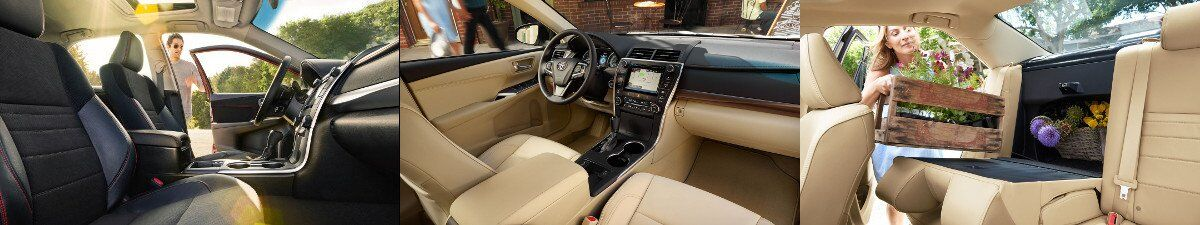 2017 Toyota Camry Interior Design and specs in Tinley Park, IL