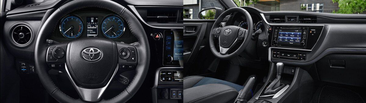 2017 Toyota Corolla Interior and Design specs in Tinley Park, IL