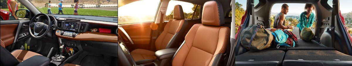 2017 Toyota RAV4 Interior and Design specs in Tinley Park, IL