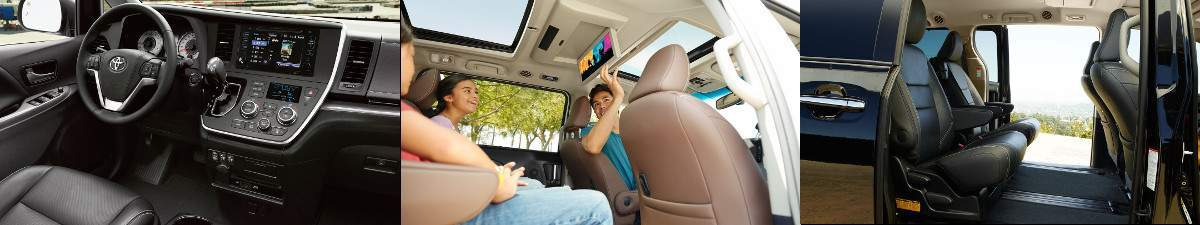 2017 Toyota Sienna Interior and Design in Tinley Park, IL