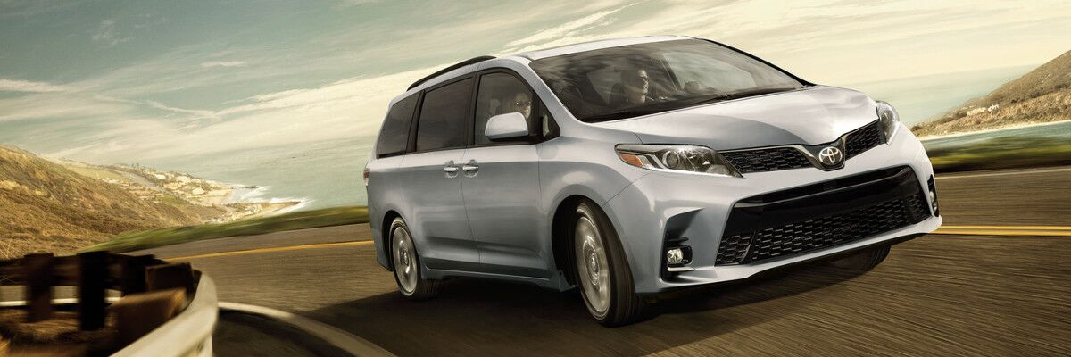 test drive the 2018 Toyota Sienna