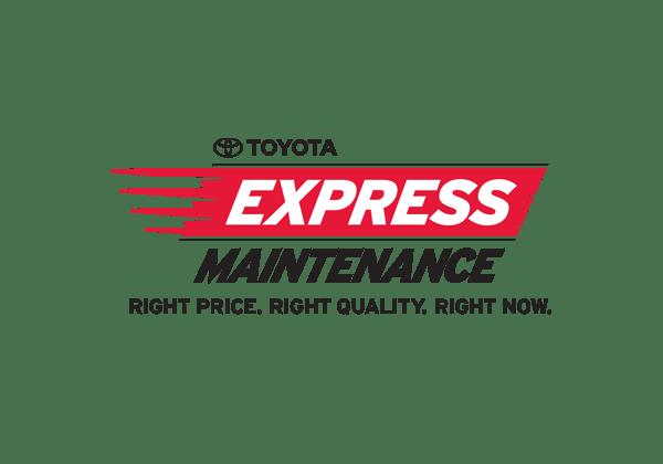 Toyota Express Maintenance logo against transparent background