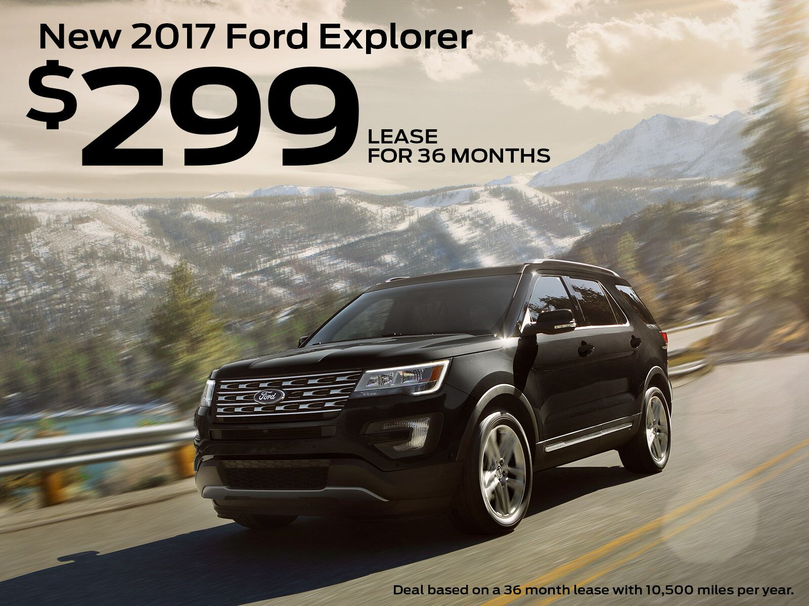 Buy a Ford Explorer