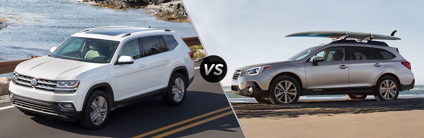 2018 Volkswagen Atlas Vs 2018 Subaru Outback