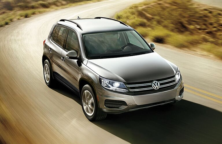 full view of 2018 tiguan limited driving