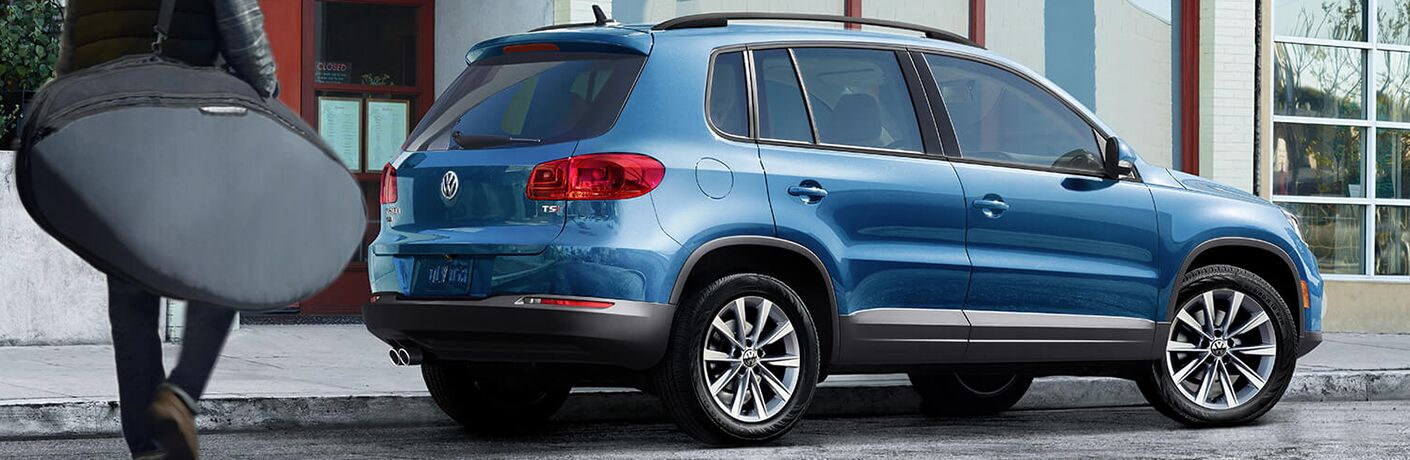 full view of 2018 tiguan limited parked