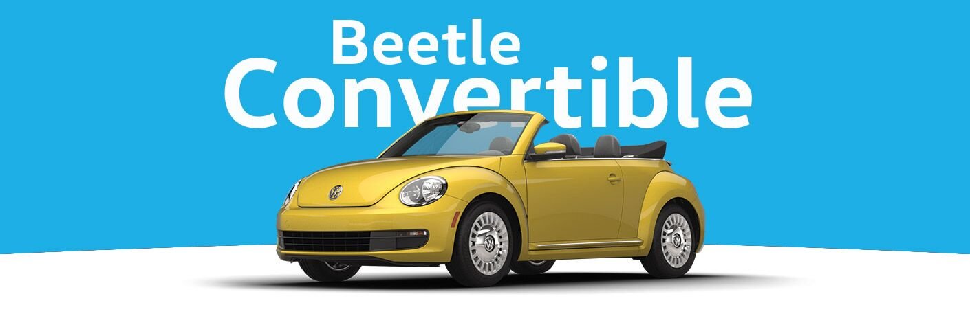 Beetle Convertible in Yellow