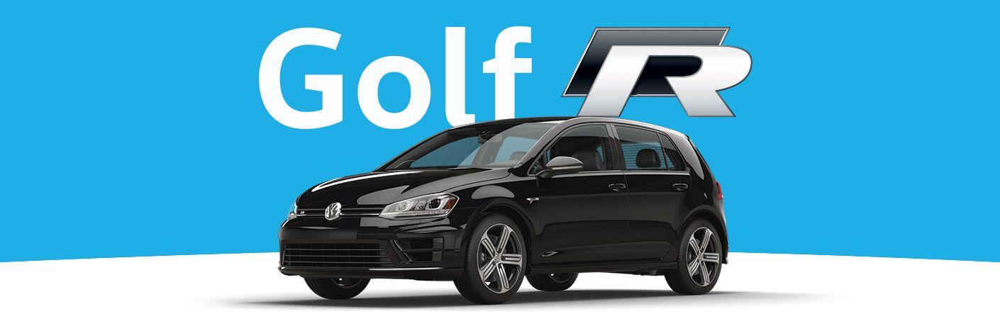 2016 Golf R in Black