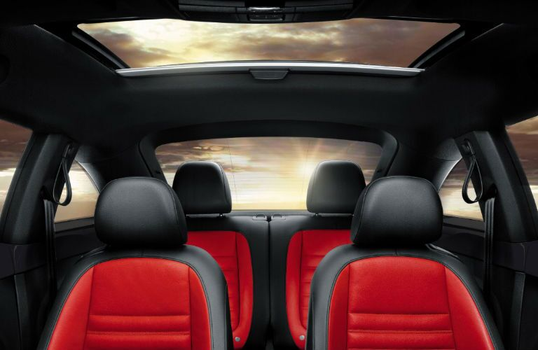 2017 Beetle Red Seats