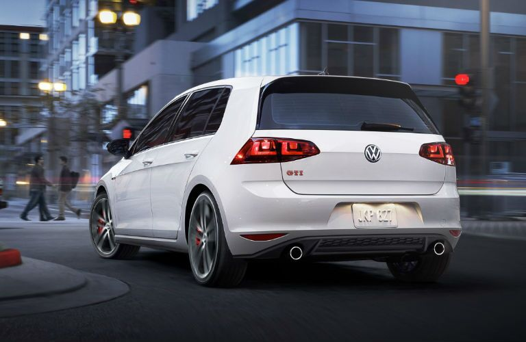 Golf GTI Rear View