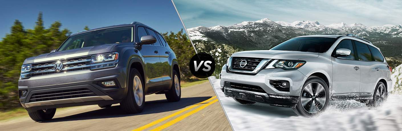 2018 Volkswagen Atlas vs 2018 Nissan Pathfinder