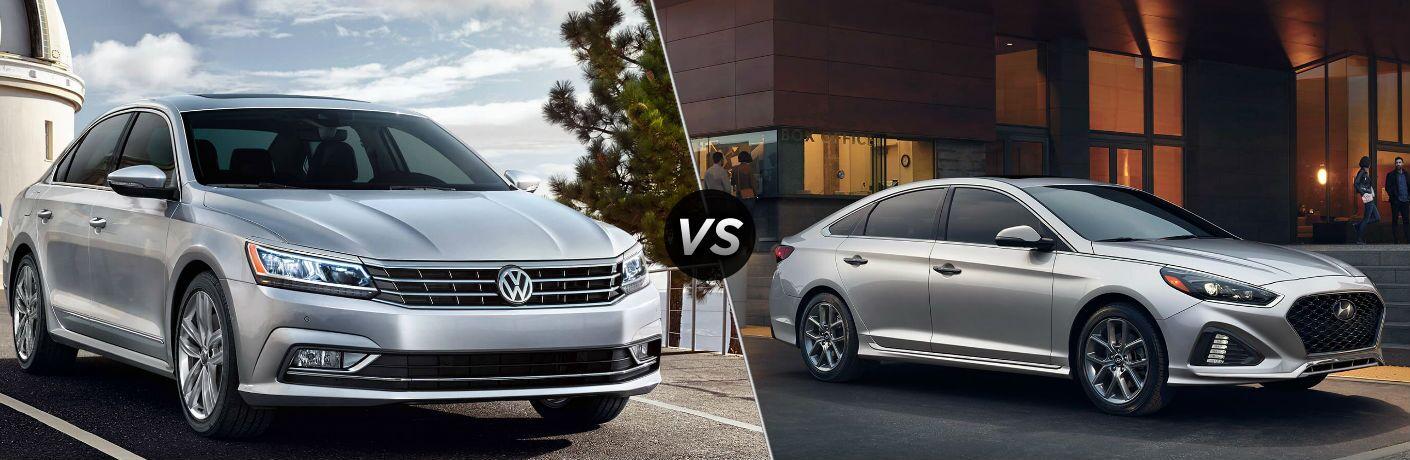 2018 Volkswagen Passat vs 2018 Hyundai Sonata