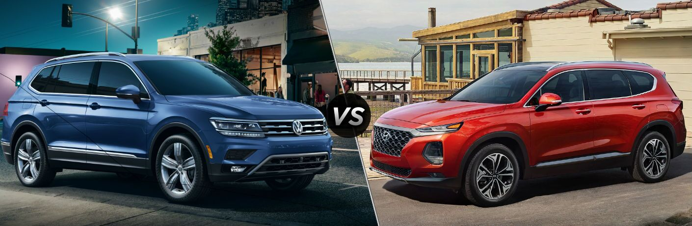 2019 Volkswagen Tiguan vs 2019 Hyundai Santa Fe