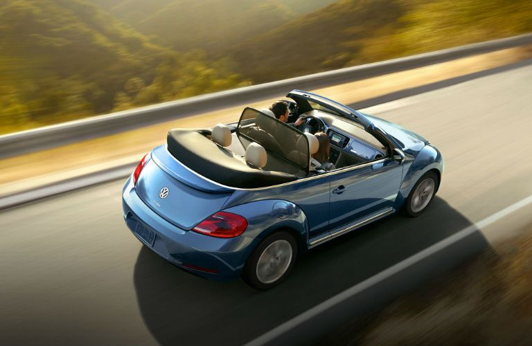 Beetle Convertible in Blue