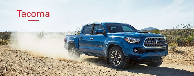 Exterior on the 2016 Toyota Tacoma