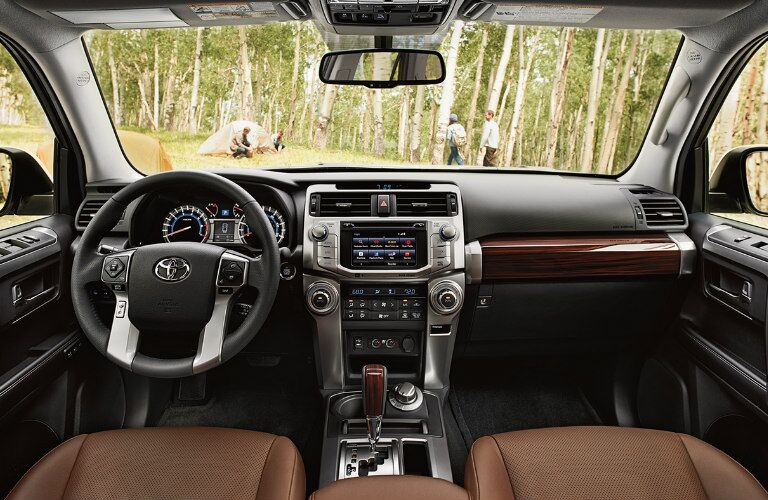 2017 Toyota 4Runner interior front seating area