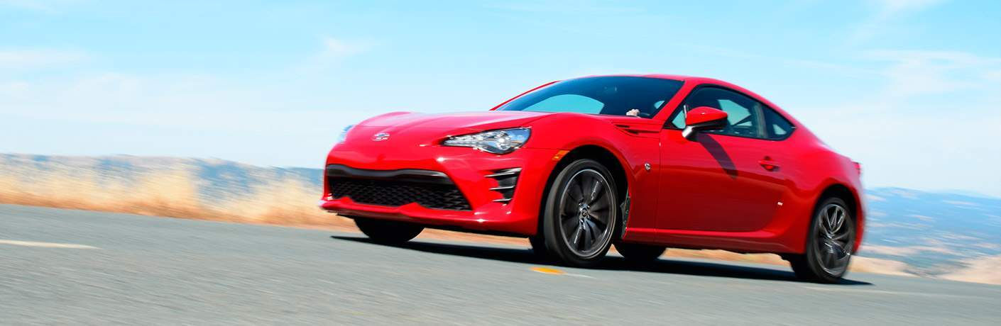 red 2017 Toyota 86 exterior front side