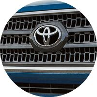 2017 Toyota Tacoma front grille closeup