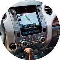 2017 Toyota Tundra interior navigation screen closeup